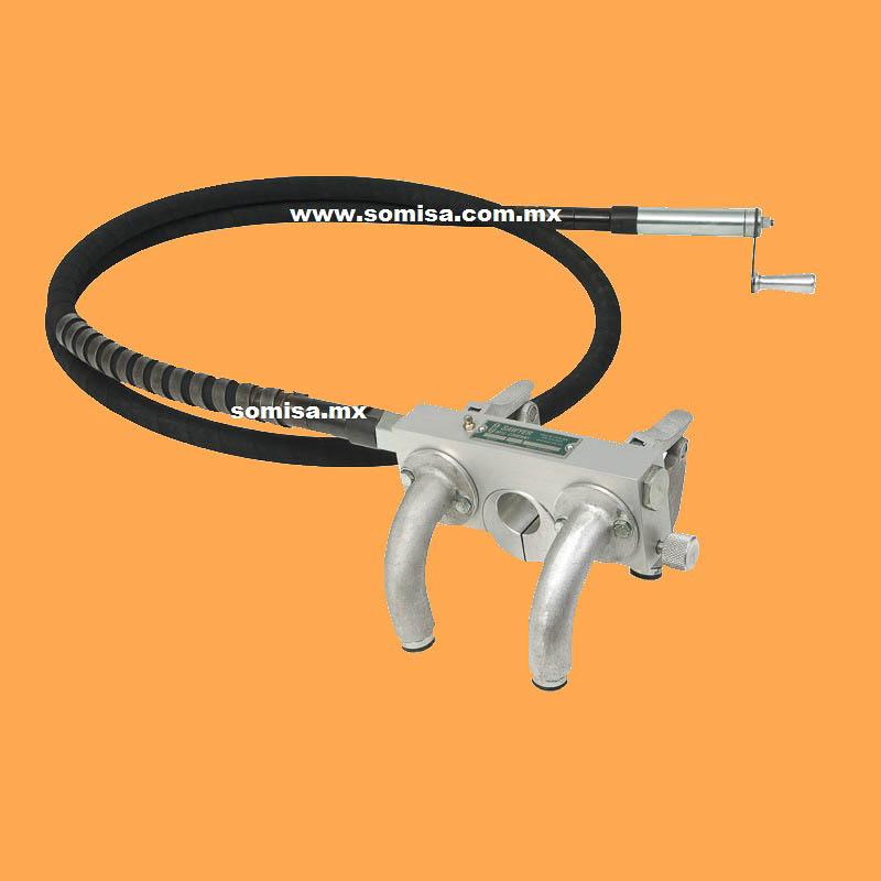 Biseladora de banda para tubo