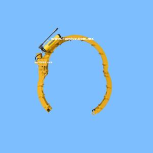 Alineador segmentado para tubo
