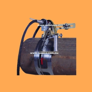 Biseladora de tubo tipo banda H&M