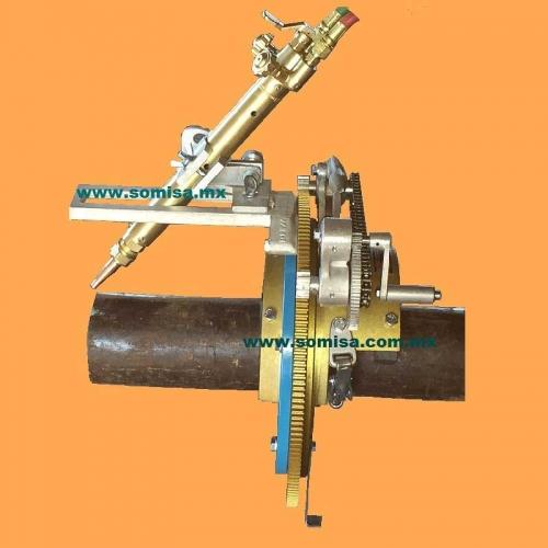 Biseladora de tubo tipo silleta